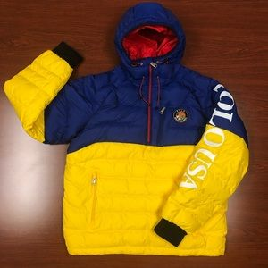 NWOT Polo Ralph Lauren Hooded Down Pullover Size M